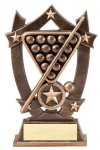 3D Sport Stars -Billiards 3D Sport Stars Resin Trophy Awards