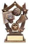 3D Sport Stars -Basketball 3D Sport Stars Resin Trophy Awards