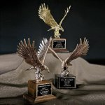 Majestic Eagle Achievement Award Trophies