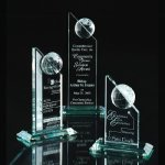 Global Excellence Achievement Award Trophies