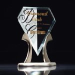 Royal Diamond Tiara Achievement Award Trophies