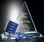 Goal-Setter Triangle Achievement Award Trophies