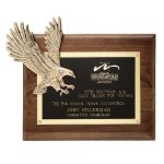 Soaring Eagle Plaque Achievement Award Trophies
