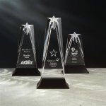 Star Tower Achievement Award Trophies