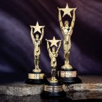 Star Achievement Achievement Award Trophies