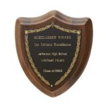 Laurel Shield Plaque Achievement Award Trophies