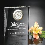 Moments Beveled Clock Achievement Award Trophies