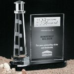 Journey Point Lighthouse Achievement Award Trophies