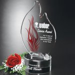 Wildfire Flame Achievement Award Trophies