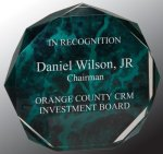 Marble Octagon Acrylic Award Achievement Awards