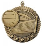 Star Volleyball Medals All Trophy Awards