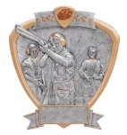 Signature Series Trap Shooter Shield Award All Trophy Awards