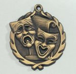 Wreath Drama / Theater Medal All Trophy Awards