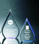Beveled Teardrop Acrylic Award Arrowhead Awards