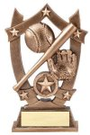 3D Sport Stars -Baseball Baseball Trophy Awards