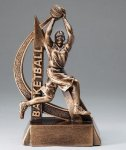 Ultra Action Resin Trophy -Basketball Female Basketball Trophy Awards