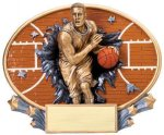 Motion X Oval -Basketball Male  Basketball Trophy Awards