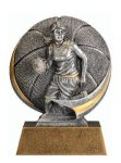 Motion X 3-D -Basketball Female  Basketball Trophy Awards
