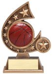 Resin Comet Series -Basketball Basketball Trophy Awards