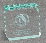 Paper Weight - Cracked Ice Boss Gift Awards