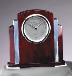Rosewood  and Aluminum Clock Boss Gift Awards