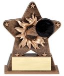 Star Burst Resin -Hockey Bursting Star Resin Trophy Awards