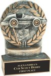 Wreath Resin Trophy -Racing  Car/Automobile Trophy Awards