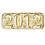 2012 Year Chenille Pins Chenille Lapel Pins