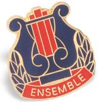 Ensemble Lapel Pin Chenille Lapel Pins