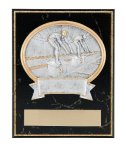 Swimming Resin Plaque Mount Award Circle Awards