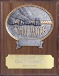 Teamwork Resin Plaque Mount Award Circle Awards