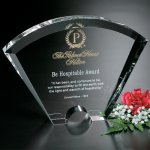 Fantasy Award Clear Optical Crystal Awards