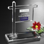 Real Estate Sign Corporate Crystal Awards