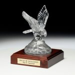 Conquering Eagle Crystal Glass Awards