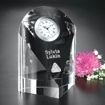 Eternity Clock Crystal Glass Awards