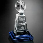 Horizon Global Award Crystal Glass Awards