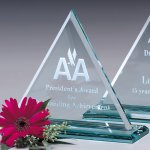 Princeton Triangle Crystal Glass Awards