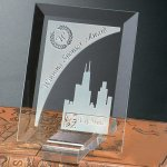 Prisma Rectangle Crystal Glass Awards