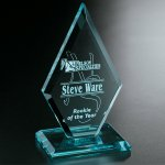 Premier Diamond Crystal Glass Awards