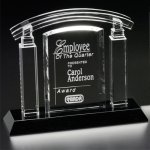 Portico Award Crystal Glass Awards