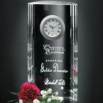 Greenwich Clock Crystal Glass Awards