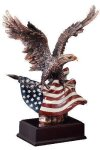 Eagle Eagle Resin Trophy Awards