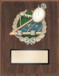Swimming Resin Plaque Mount Award Eagle Trophy Awards