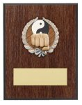 Karate Resin Plaque Mount Award Economy Awards