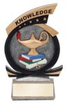Gold Star Knowledge Award Education Trophy Awards