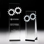 Gear Tower Crystal Award Employee Awards