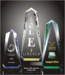 Faceted Obelisk Acrylic Award Employee Awards