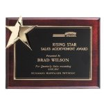 Corner Star Plaque Employee Awards
