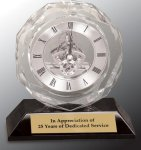 Crystal Clock Award Employee Awards