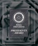 Black Marble Acrylic Award Recognition Plaque Employee Awards
